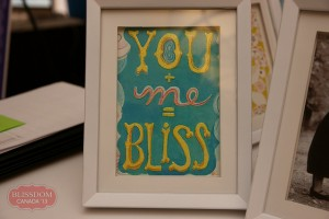 Blissdom photo frame